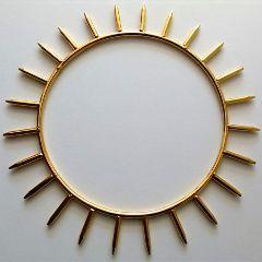 Able Crystals - Krystaline Sun Ring